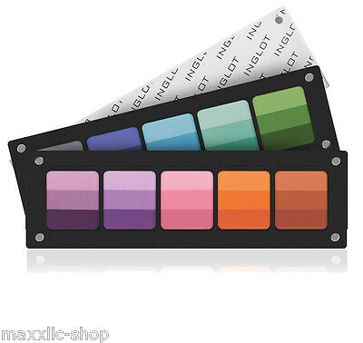 INGLOT PALETTE FREEDOM SYSTEM 5 SQUARE Rainbow Pressed EYESHADOW REFILL
