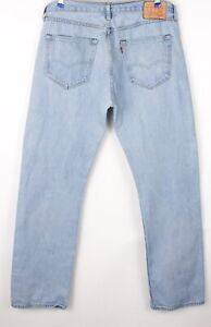 Levi's Strauss & Co Hommes 501 Slim Jeans Jambe Droite Taille W36 L32 BCZ905