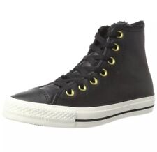 f31591d7efdc Converse Unisex Adults CTAS Hi Black Egret Hi Top Trainers Size UK 6.5