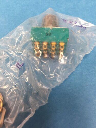 ALCO MTG426N 4PDT Toggle Switch 6A 125V