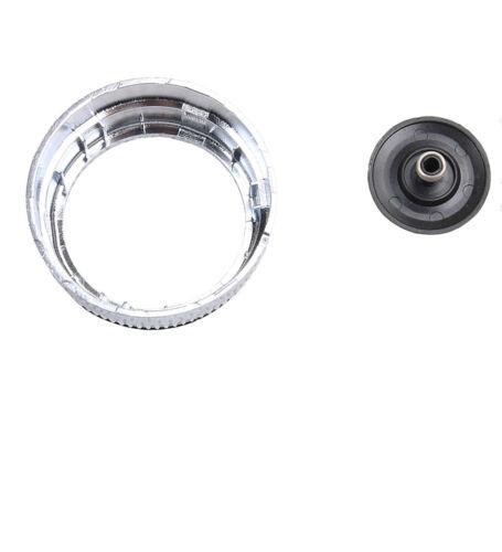 Multimedia Adjust Knob Cap W// Navi For AUDI Q7 07-09 A6 S6 C6 05-08 A8 S8 D3 4E