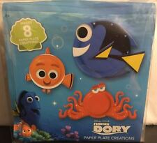 DISNEY PIXAR FINDING DORY PAPER PLATE CREATIONS  KIT NEW SEALED