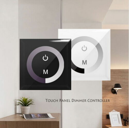 Wall Mounted Sensitive Touch LED Light 86 Dimmer Controller Switch DC 12V 24V