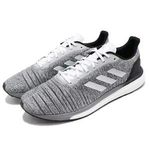 a9bc5dccb599 adidas Solar Drive M Boost Grey White Black Men Running Shoes ...