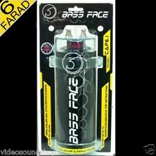 BASS FACE CAP6.1 CONDENSATORE 6 FARAD + Viecar OBDII DIAGNOSI AUTO Bluetooth