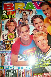 Bravo 23 1995 Joey Kelly Green Day Poster Bodycheck Boy