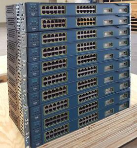 Cisco-WS-C2950G-24-EI-24-Port-Fast-Ether-2-Port-1000Base-x-GBIC-Uplinks-Switch