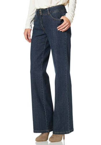 Jeans Vivance Collection Court Taille Neuf!! Kp 49,99 € SOLDES/%/%/% Blue Stone