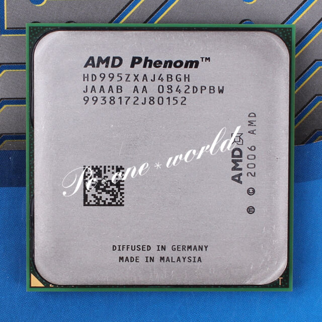 100% OK HD995ZXAJ4BGH AMD Phenom X4 9950 2.6 GHz Quad-Core Processor CPU