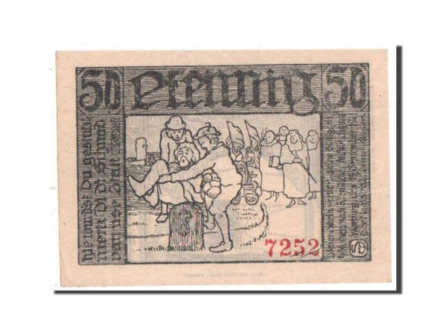 [#351637] Notgeld, Westfalen, Warburg, 50 Pfennig 1921, Mehl 1376.1