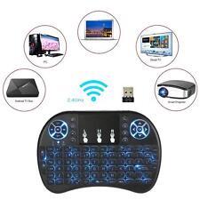 Backlight Mini Wireless Keyboard 2.4GHz Keyboard Remote Control Touchpad P9H4