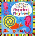 Usborne Baby's very first touchy-feely Fingertrail Play book von Fiona Watt (2014, Gebundene Ausgabe)
