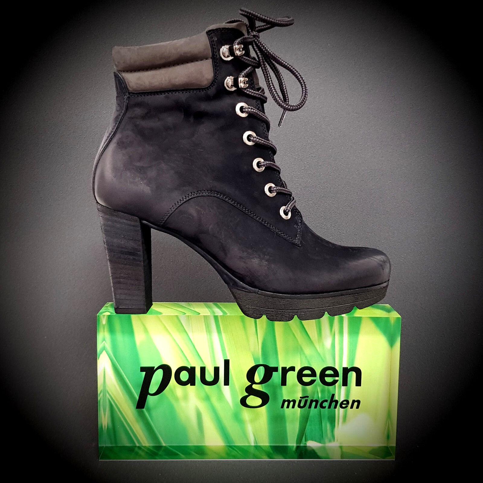 risposta prima volta NUOVO Paul Paul Paul verde Lacci Stivaletti Stivali 9429 003 tacco alto Ocean 80 mm  all'ingrosso economico e di alta qualità