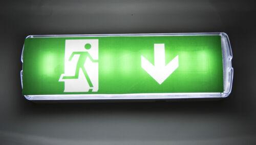 Led Emergency Light Emergency Exit Light Escape Route Bottom