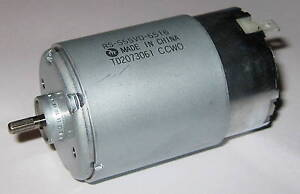 Mabuchi RS-555 VD - 12V - 13500 RPM - High Torque Motor