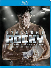 Rocky Collection (Blu-ray Disc, 2014, 7-Disc Set, Canadian)