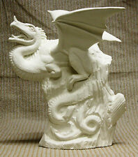 Ceramic Bisque Perching Dragon Doc Holliday Mold 2309 U-paint Ready to Paint