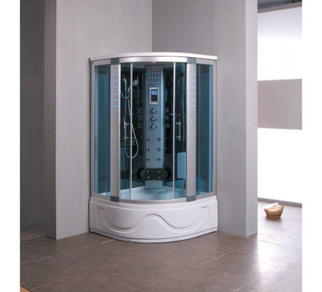 Aquaplus 8002A Steam Shower Cabin Enclosure 1050 x  1050 stand alone shower