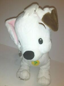 Disney-White-And-Brown-Dog-12-034-Plush-Stuffed-Animal