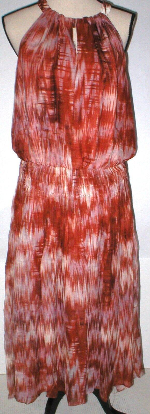 Nuevo vestido sin mangas para mujer Nuevo con etiquetas  L Diseñador Elizabeth and James Finn blancoo Marrón  la calidad primero los consumidores primero