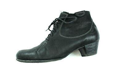TAMARIS Wildleder Boots Schnürer Hochfront Halb Schuhe 39 UK 6 schwarz weich | eBay