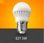 thumbnail 3 - LOT E27 3W LED Globe Bulb SMD Energy Saving Light DC12V AC110V AC220V AC245V