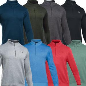4a12452f3cb0 Details about Under Armour Mens UA Storm Sweater Fleece 1/4 Zip Jumper  Pullover
