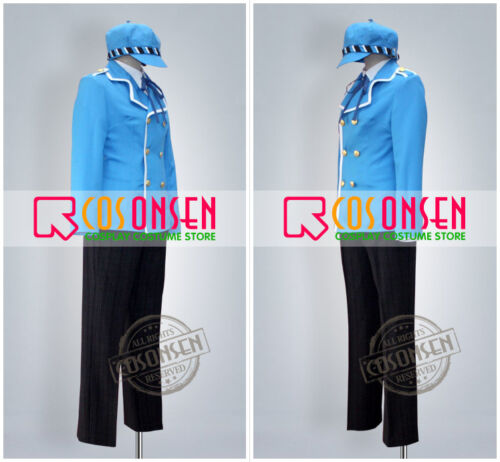 Cosonsen Persona 4 Naoto Shirogane Cosplay Costume Any Size Full Set With Hat