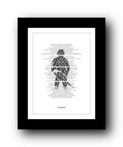 Details about ❤ BRUCE SPRINGSTEEN Backstreets ❤ song lyric poster art print  - 5 sizes #2