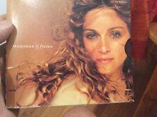 MADONNA CD SINGLE CARD COVER USA FROZEN SHANTI