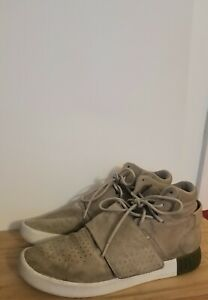 newest b40a1 b72ce Details about Adidas Yeezy Tubular Invader size 10 suede