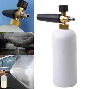 Foam Lance Snow Cannon Pressure Washer Gun Car Foamer Wash Quick Adapter Jet