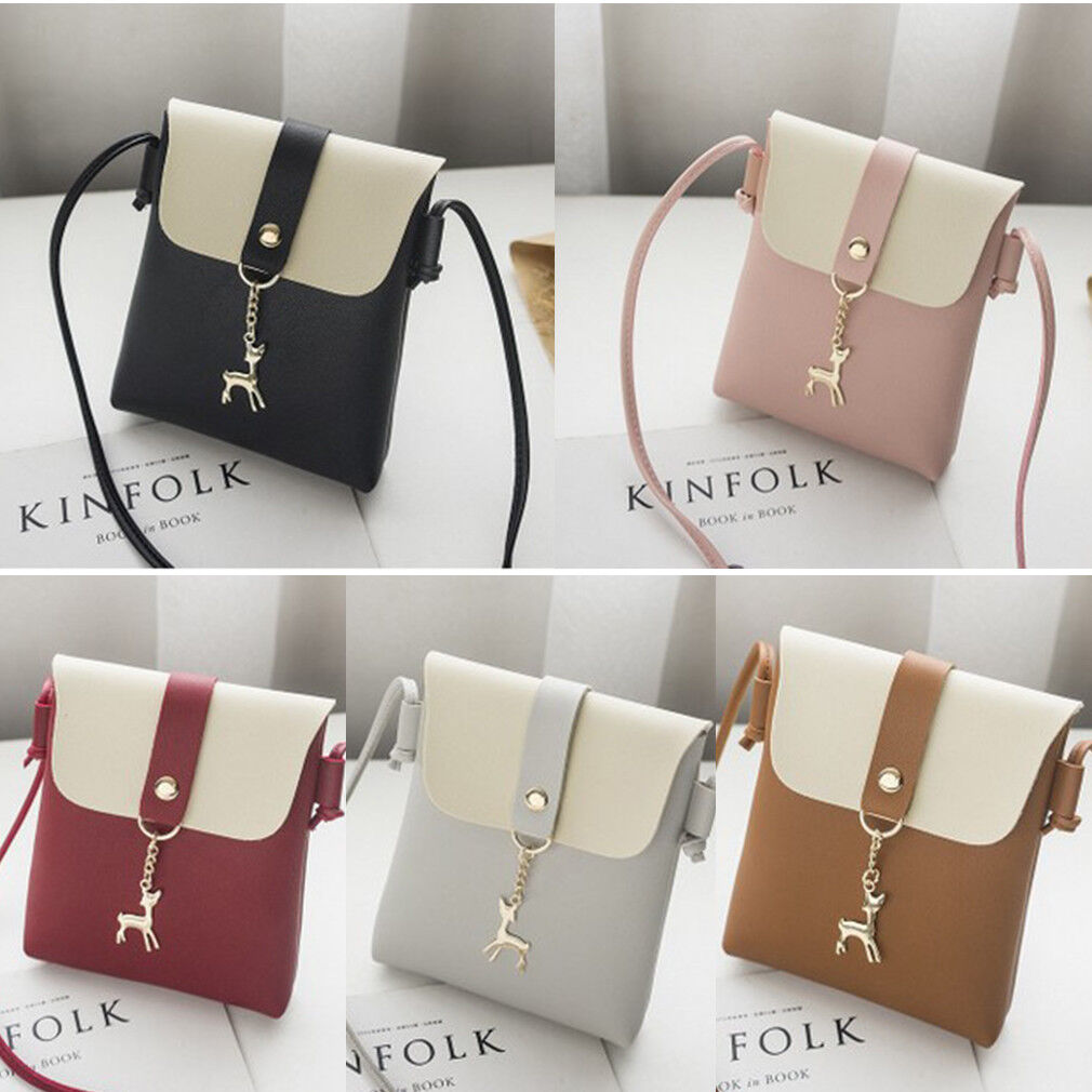 New Women Shoulder Bag Handbags PU Leather Crossbody Purse Tote Satchel Fashion