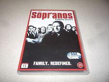 THE SOPRANOS  COMPLETE SERIES 2 DVD 4 DISCS SET