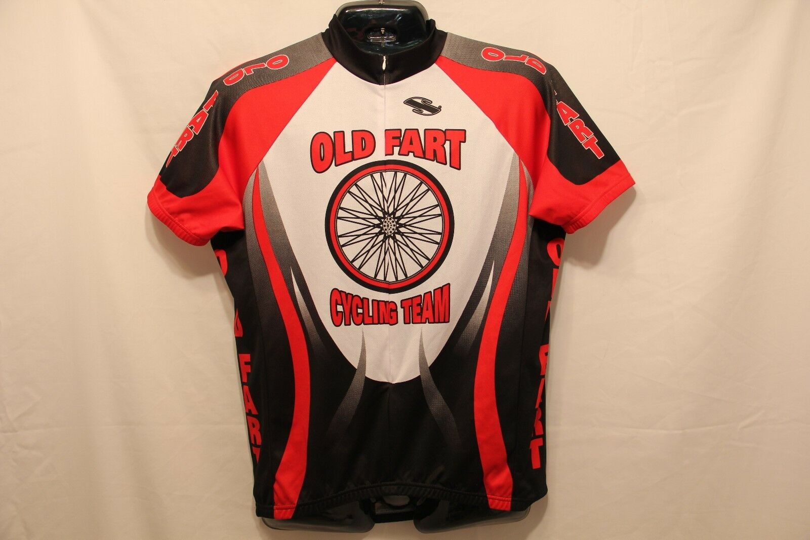 Old Fart Cycling Team Shirt Short Sleeve Jersey Adult  Med  find your favorite here