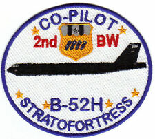 USAF PATCH, B-52H COPILOT, 2ND BW, BARKSDALE AFB    Y