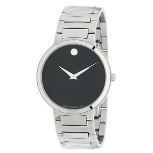 Movado 0607292 Men's Temo Black Quartz Watch