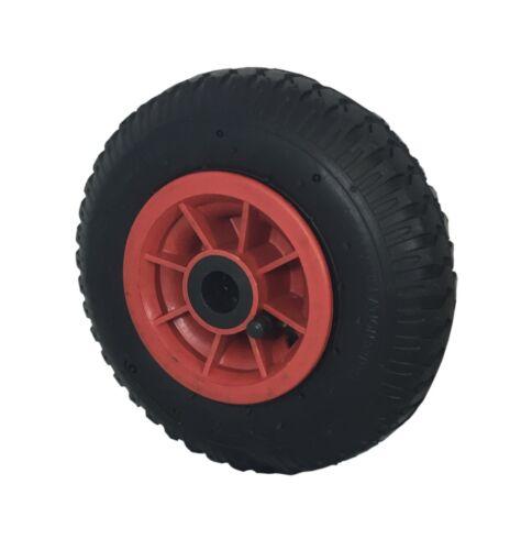4PLY 2.50-4 Pneumatic Wheel Sack Truck Trolley BentValve 16mm Bearing 220 x 65