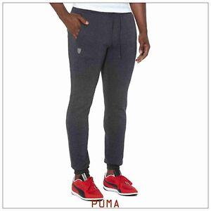ce5df9174f Details about Puma Ferrari Sweatpants Jogger # 569345 01 Dark Grey Men SZ  L, XL