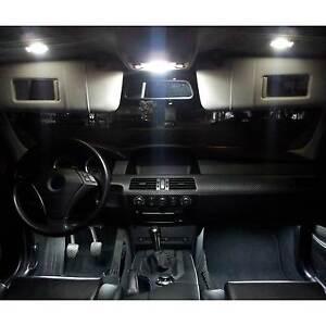 SMD LED Innenraumbeleuchtung komplett Set BMW E65 7er blau Innenbeleuchtung