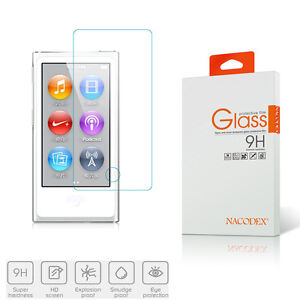 Nacodex-Tempered-Glass-Screen-Protector-For-iPod-Nano-8-8th-Generation-2015