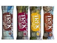 Trek Protein Energy Bars Mixed Case Selection 16 Or 32 Bars Vegan Gluten Free