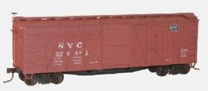Accurail HO New York Central  Wood Boxcar w/Steel Plastic Kit  ACU4305