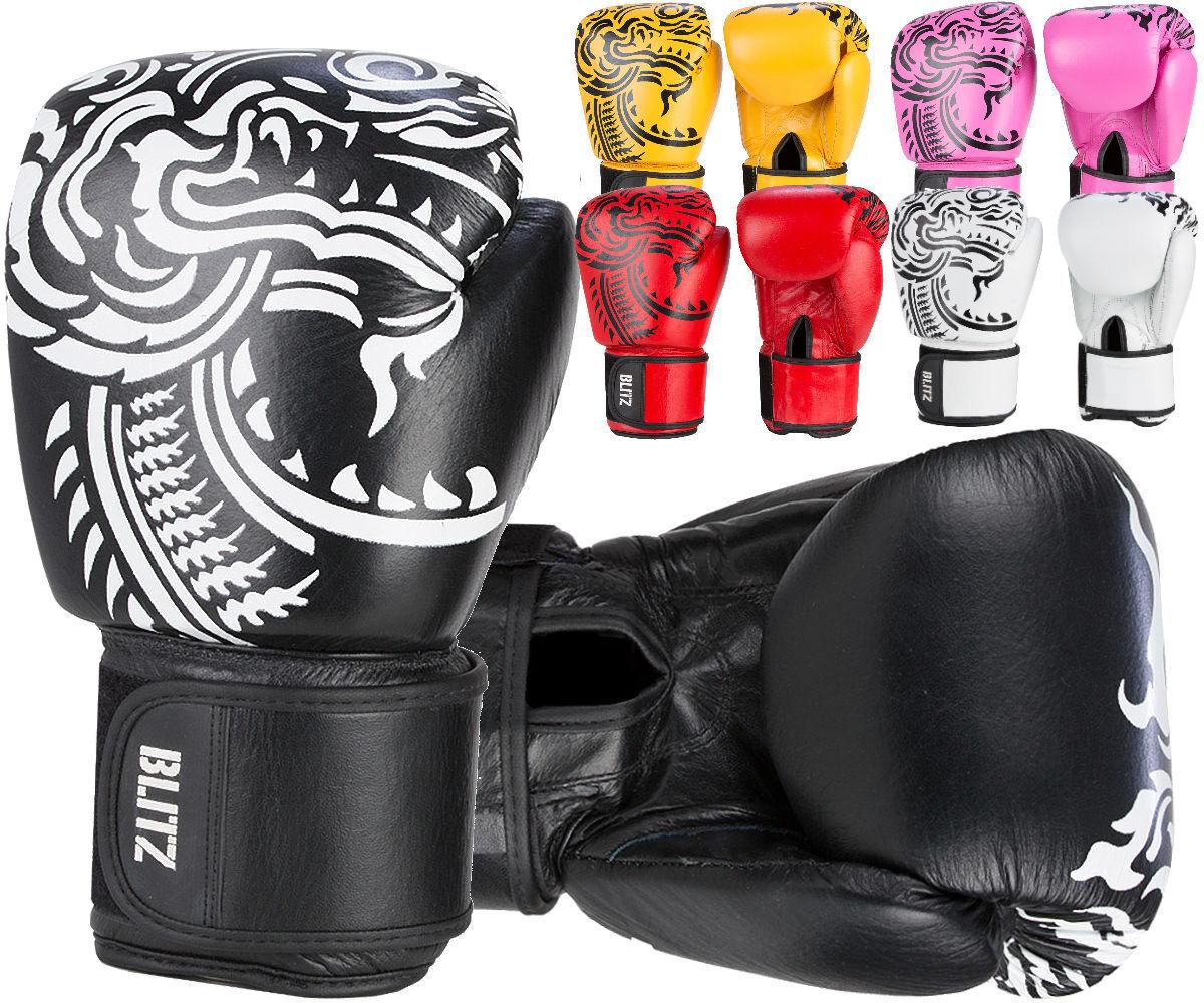 Firepower Leder Muay Thai Leder Firepower Boxing Gloves 7450f0