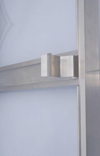 EDEN Greenhouse Spare Parts Replacement Aluminium Door Handle Internal Stop