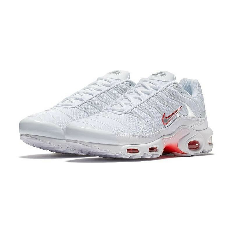 Brand New Mens Air Max Plus 852630-101 White Size 9
