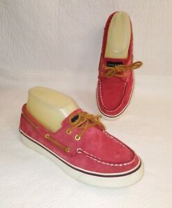 SPERRY TOP SIDER Bahama Red Boat Shoes