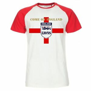 aacc683137 Details about 5 x Custom Printed England Football Pub Staff T-Shirt Work  Uniform Euros