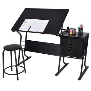 Image Is Loading Drafting Table Adjustable Drawing Desk Art Craft Hobby