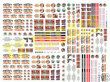 N Scale Royal American Circus Wagon Decals- HUGE 8.5 X 11 SHEET!